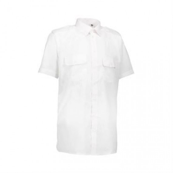 ID uniformsskjorte korte ærmer 0221 lys blå