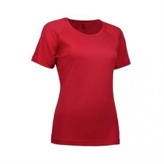 ID Game active t shirt dame 0571 rød