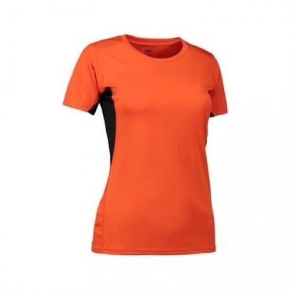 ID Game active t shirt dame 0585 rød