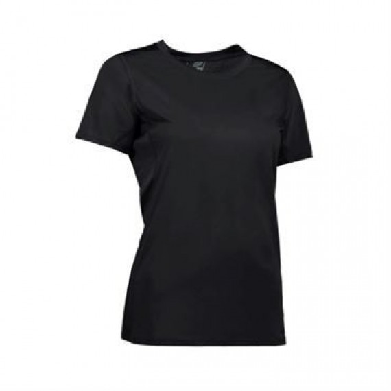 ID Game active t shirt dame 0585 sort