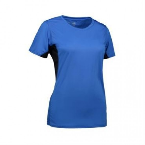 ID Game active t shirt dame 0585 azur