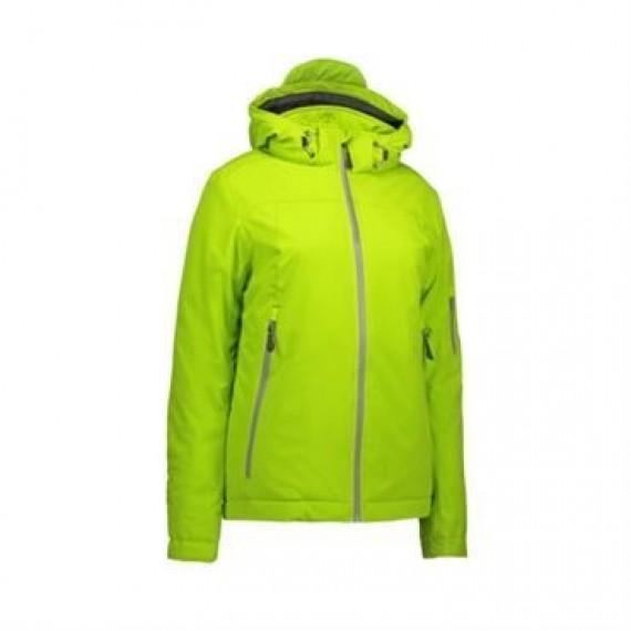 ID softshell jakke dame 0873 lime