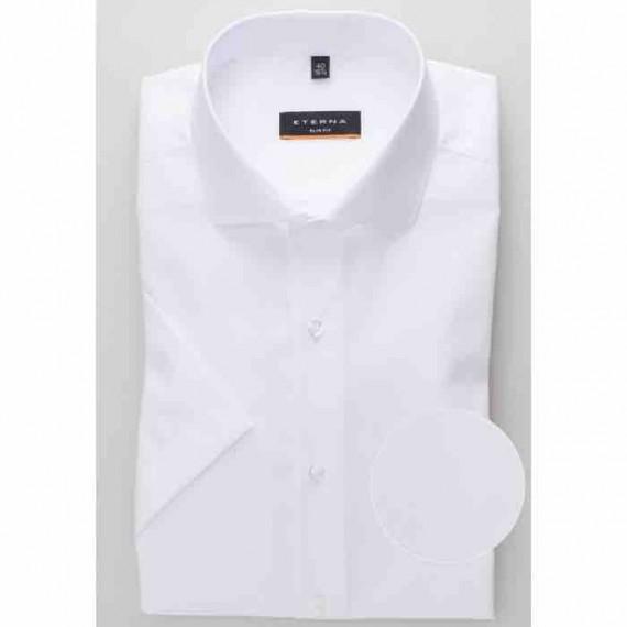 Eterna Slim fit kortærmet skjorte 1100 G182 00