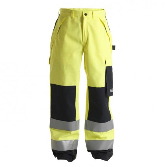 FE-Engel Safety+ Buks EN 20471 Gul/Sort-30