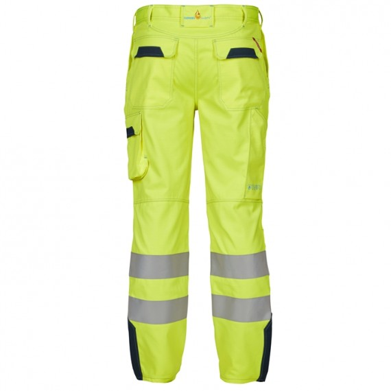 FE-Engel Safety+ Buks EN 20471 Gul/Marine-00