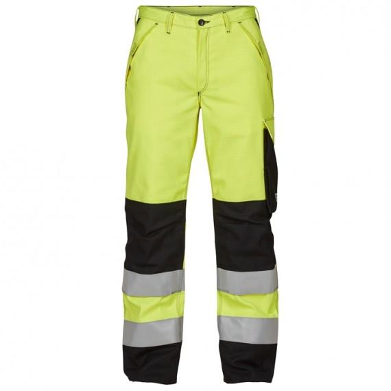 FE-Engel Safety+ Lysbue Buks EN 20471 Gul/Sort-30