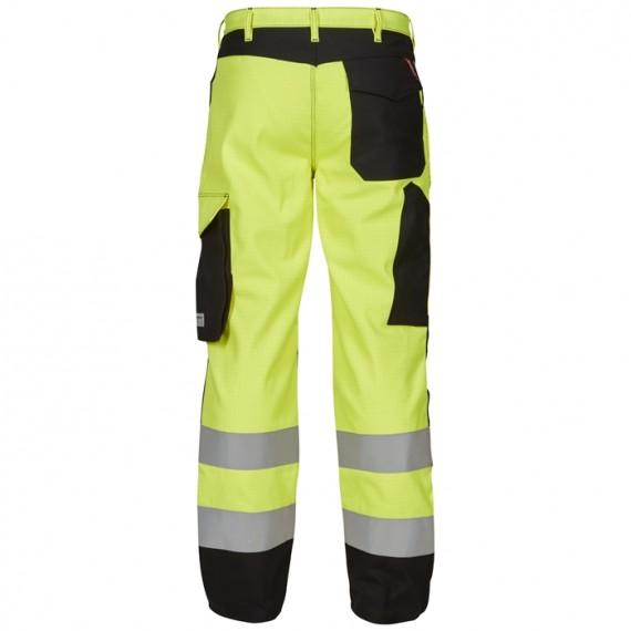 FE-Engel Safety+ Lysbue Buks EN 20471 Gul/Sort-00