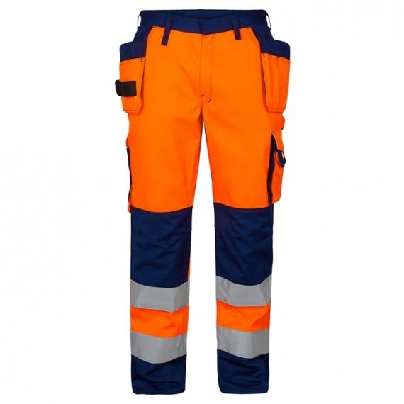 FE-Engel EN 20471 Buks M/Hængelomme Orange/Marine-30