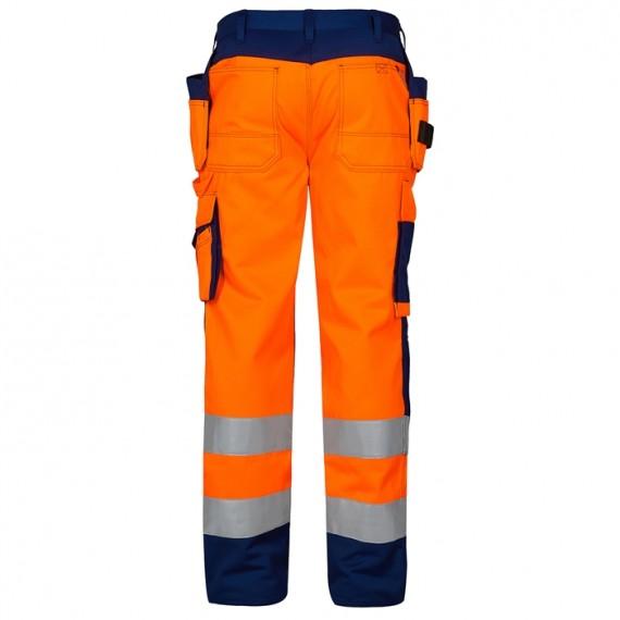 FE-Engel EN 20471 Buks M/Hængelomme Orange/Marine-00