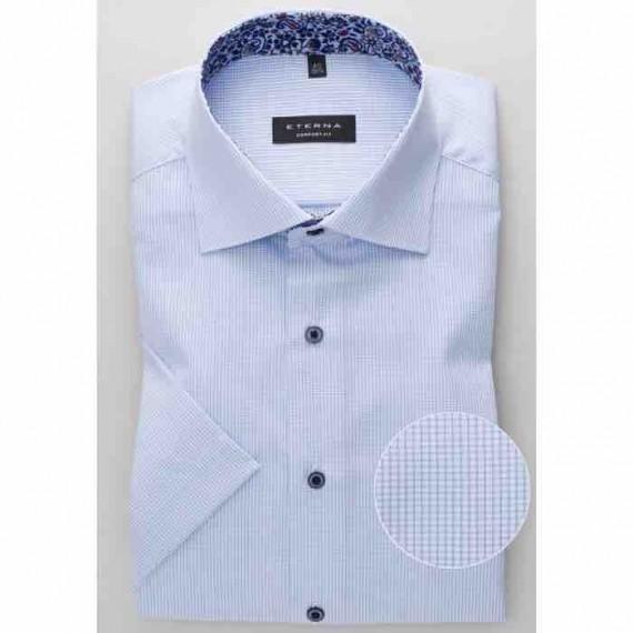 Eterna Comfort fit kort ærmet skjorte 3178 K15K 12