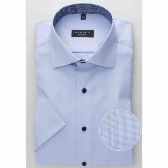 Eterna Comfort fit kort ærmet skjorte 3370 K15K 12