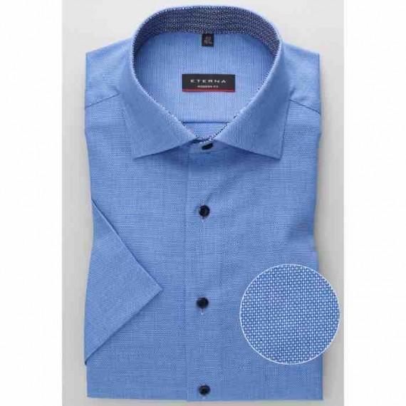 Eterna Modern fit kort ærmet skjorte 3720 C15K 63