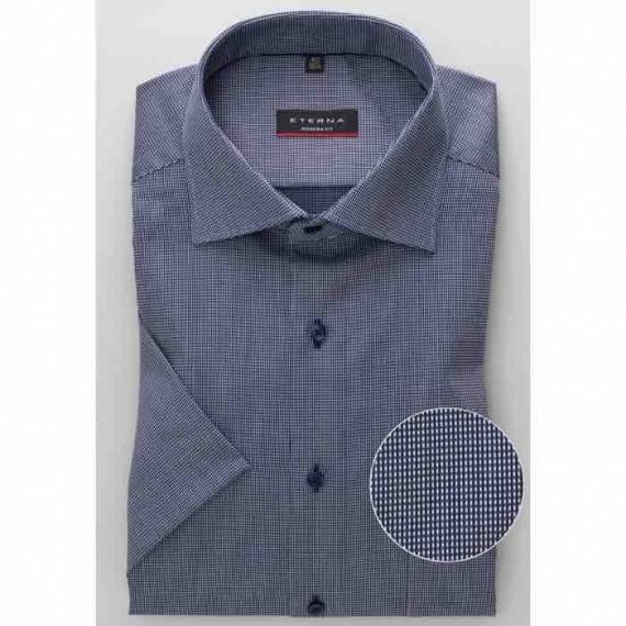 Eterna Modern fit kort ærmet skjorte 3680 C19K 18