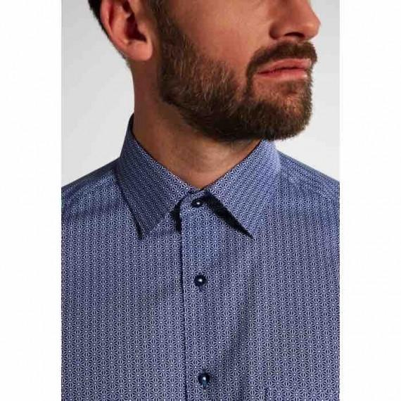 Eterna Modern fit kort ærmet skjorte 3871 C19P 19-047