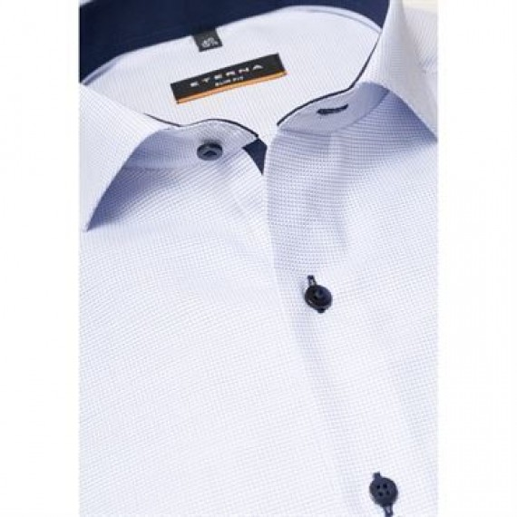 Eterna skjorte slim fit 4671 F142 11-00