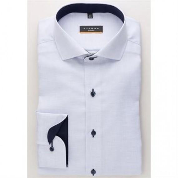 Eterna skjorte slim fit 4671 F142 11