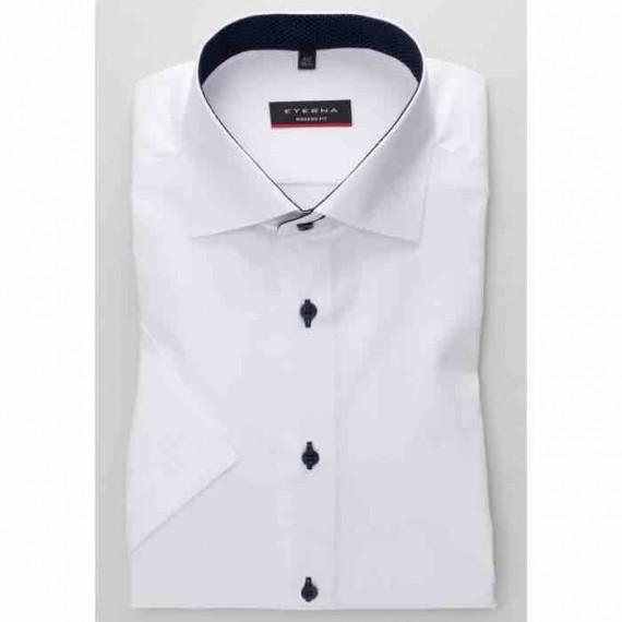 Eterna Modern fit kort ærmet skjorte 8100 C13K 00