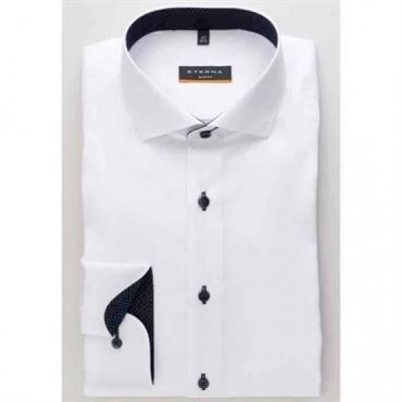 Eterna skjorte slim fit 8100 F132 00-30
