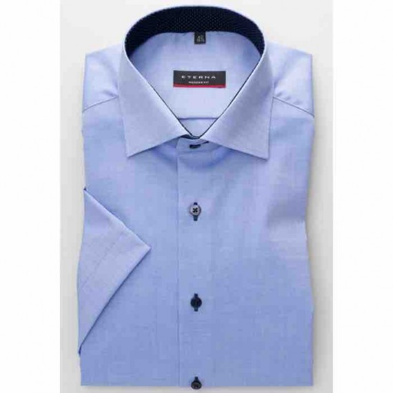 Eterna Modern fit kort ærmet skjorte 8100 C13K 12