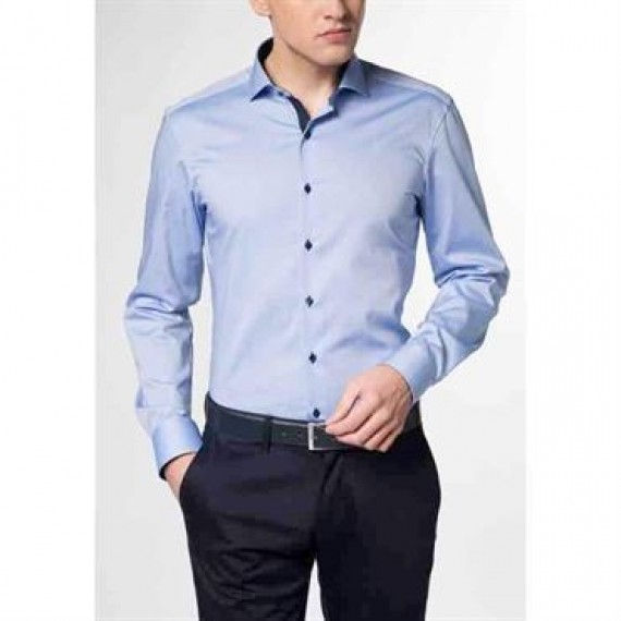 Eterna skjorte slim fit 8100 F132 12-00