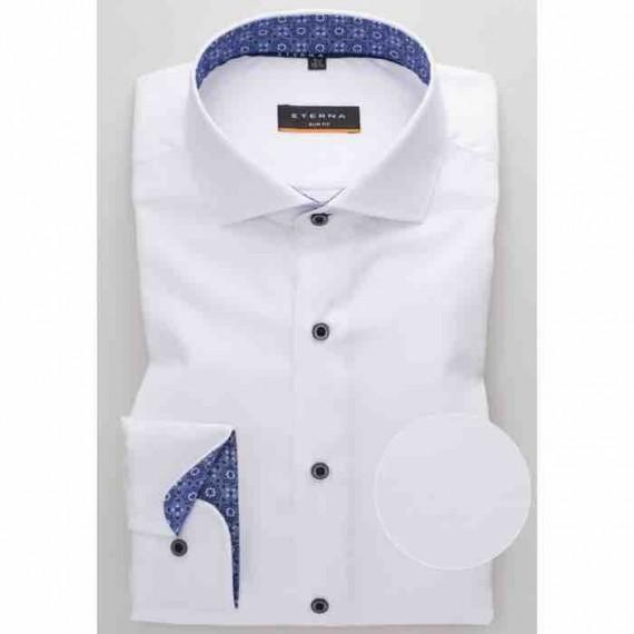 Eterna Slim fit skjorte 8463 F142 00