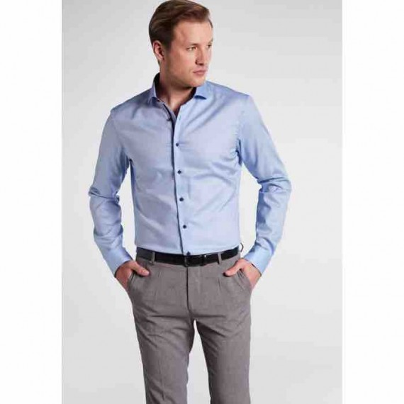 Eterna Slim fit skjorte 8465 F94V 12-062