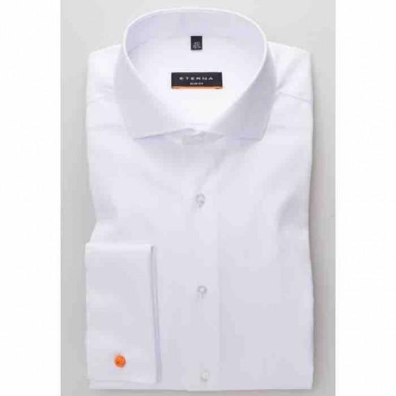 Eterna dobbelt manchet skjorte Slim fit 8817 F482 00