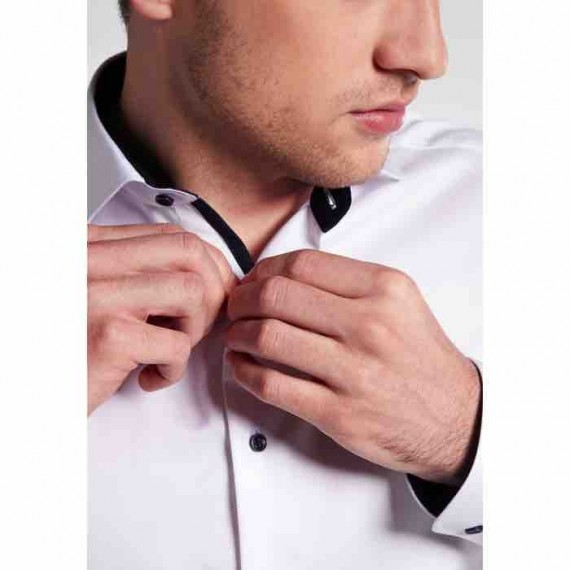 Eterna Slim fit skjorte 8819 F142 00 Cover shirt-026