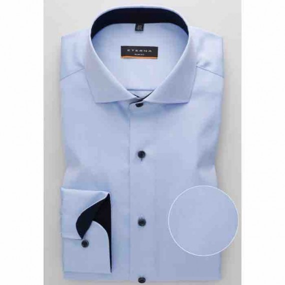 Eterna Slim fit skjorte 8819 F142 10 Cover shirt-331