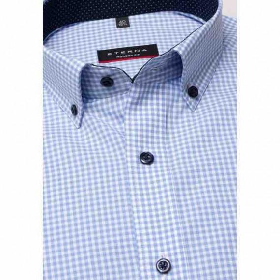 Eterna Modern fit kort ærmet skjorte 8913 C143 12-020