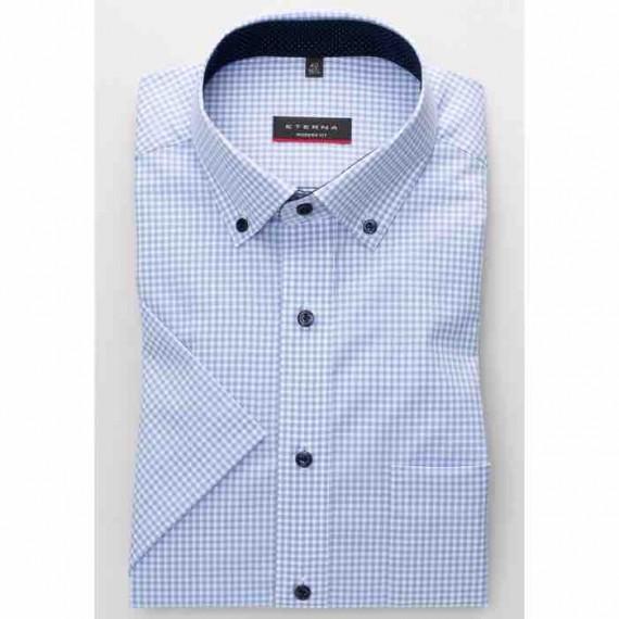 Eterna Modern fit kort ærmet skjorte 8913 C143 12