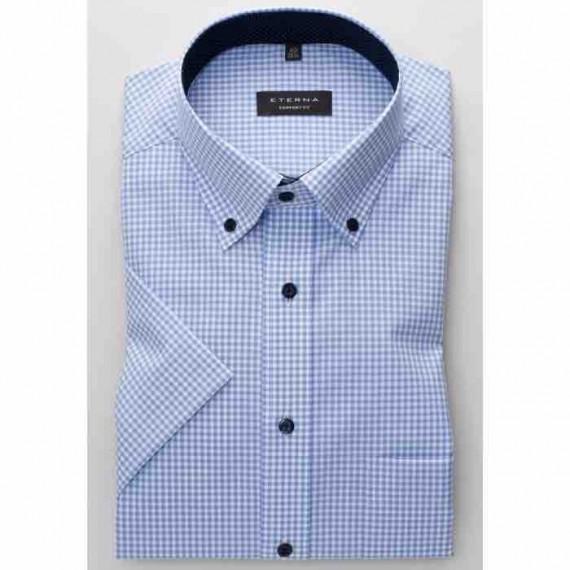 Eterna Comfort fit kort ærmet skjorte 8913 K144 12