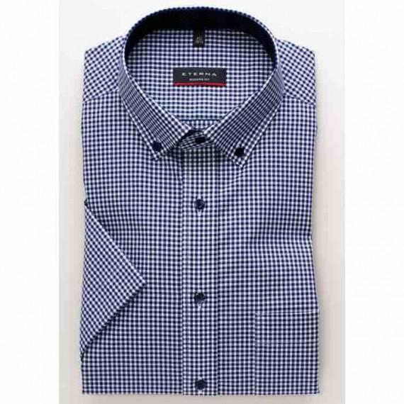 Eterna Modern fit kort ærmet skjorte 8913 C143 16