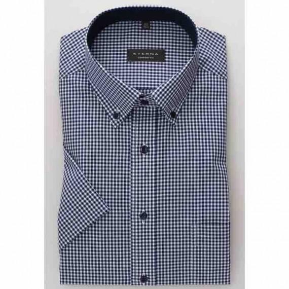 Eterna Comfort fit kort ærmet skjorte 8913 K144 16