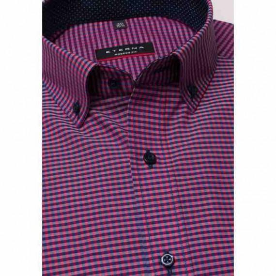 Eterna Modern fit kort ærmet skjorte 8913 C143 58-027