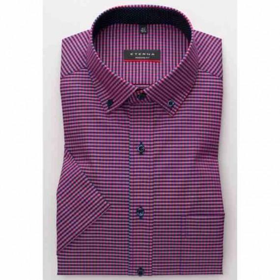 Eterna Modern fit kort ærmet skjorte 8913 C143 58