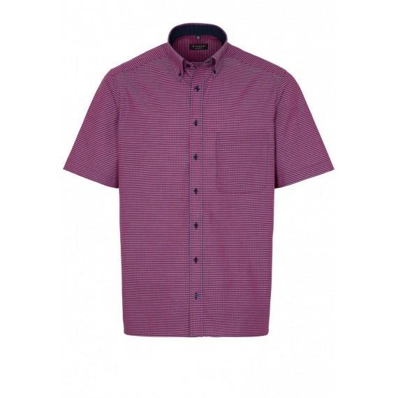 Eterna Comfort fit kort ærmet skjorte 8913 K144 58-04