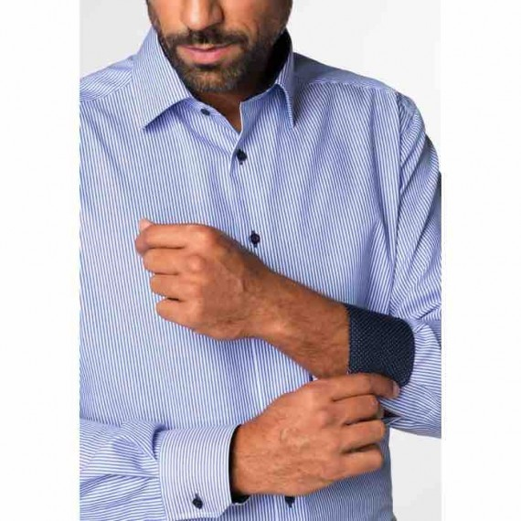 Eterna Modern fit skjorte længde 68 8992 X14P 16-027