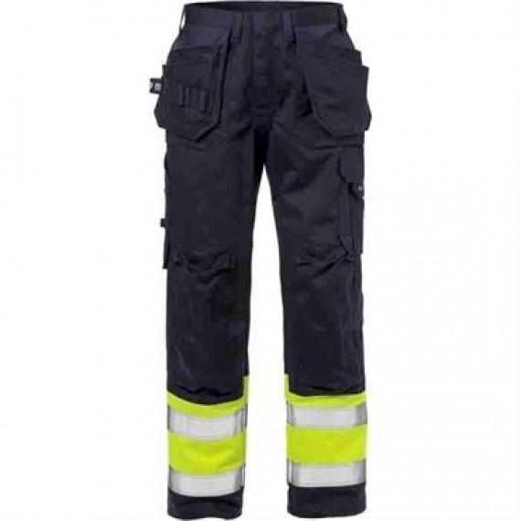 Kansas Flame Hi Vis håndværker bukser kl. 1-30