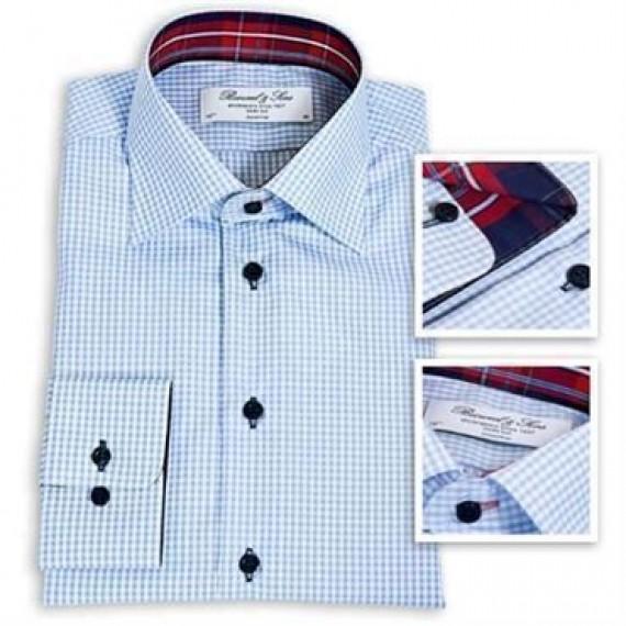 Bosweel kortærmet skjorte classic fit 8351