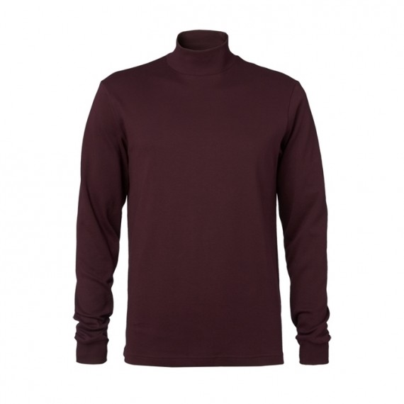 Clipper Turtleneck Bordeux-30