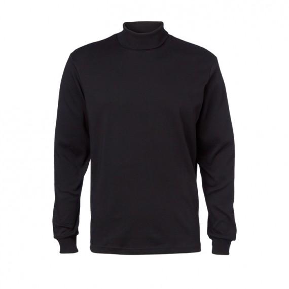 Clipper Rullekrave-pullover Sort-30
