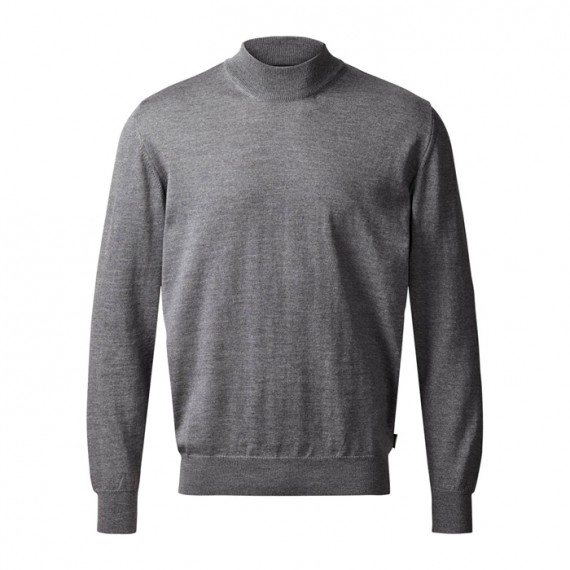 Clipper Turtleneck Stengrå-30