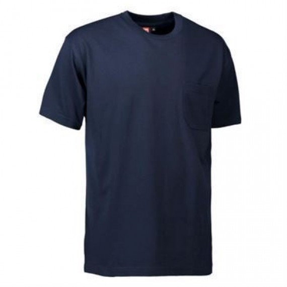 ID t time t shirt med brystlomme 0550 navy