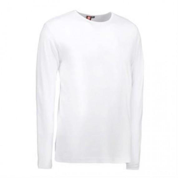 ID interlock t shirt 0518 hvid