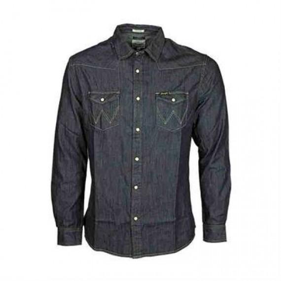 Wrangler denim skjorte W5973O7WE