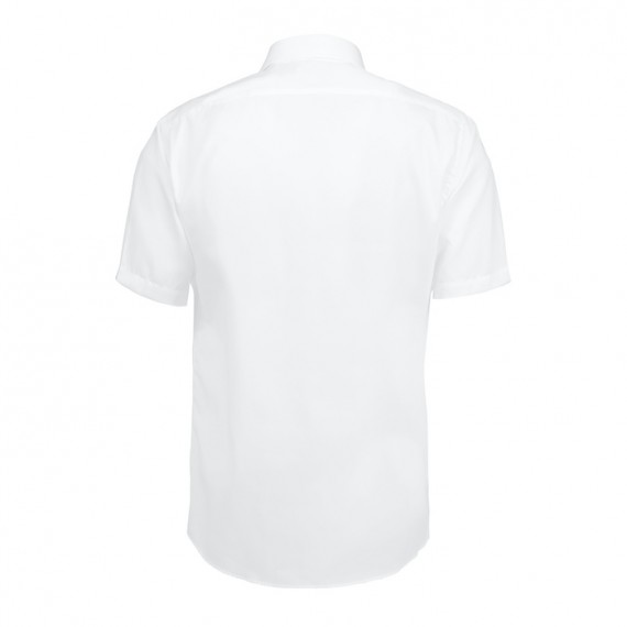 Seven Seas kortærmet skjorte modern fit ss410 white-03