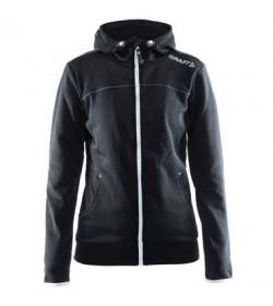 Craft Leisure full zip hood jacket 1901693 9920 Black Women-20