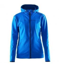 Craft Leisure full zip hood jacket 1901693 2336 Sweden blue Women-20