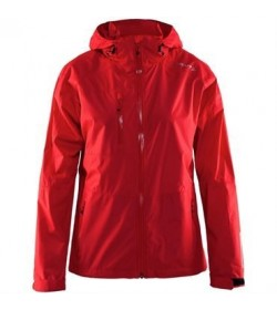Craft aqua rain jacket 1903563 1430 Red Women-20